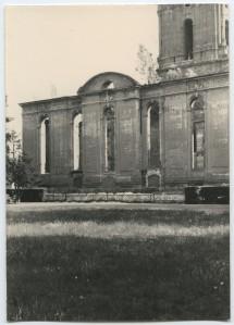 Die Ruine der Garnisonkirche kurz vor ihrer Sprengung im Mai 1968. Foto: Karl Heinz Babilon © Potsdam Museum - Forum für Kunst und Geschichte