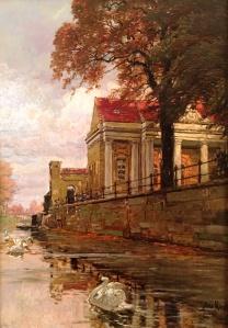 Max Koch: Kellertorgebäude am Potsdamer Stadtkanal (Privatbesitz)