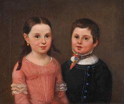 Albert Moores: Julius Kann mit seiner Schwester, © Potsdam Museum - Forum für Kunst und Geschichte