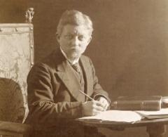 Karl-Heinrich Schäfer um 1905 © Archiv der Propsteigemeinde St. Peter und Paul Potsdam