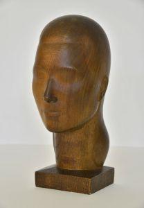 4_Walter Bullert, Gertrud Bullert, 1923, Holz, Privatbesitz © VG Bild-Kunst, Bonn 2015, Foto: Michael Lüder
