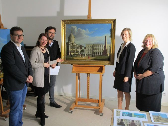 PK Restaurierung Barth Gemälde